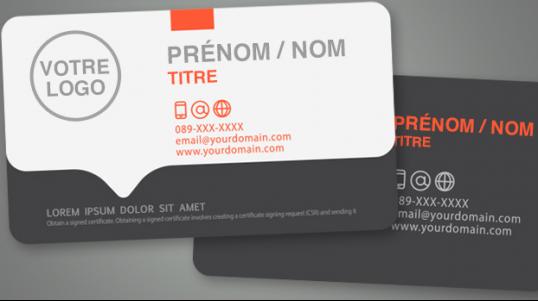 Service d'impression de matériaux de marketing, cartes d'affaires, affiches, enveloppes et beaucoup plus.